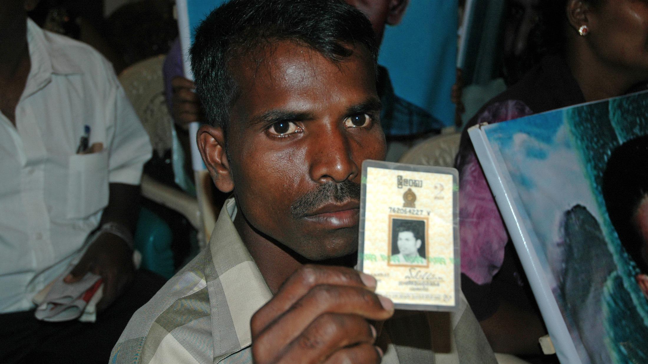 Sri lanka missing perosns