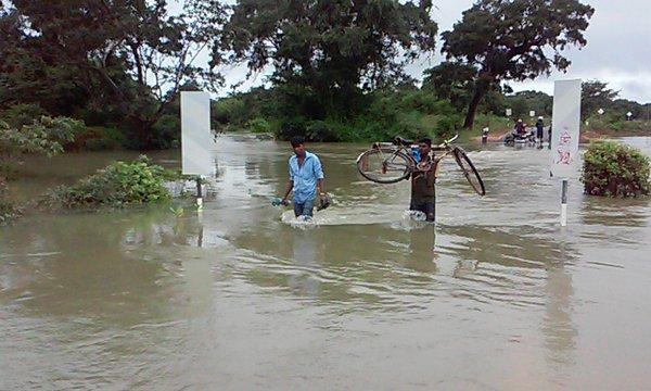 floods in Kilinochchi
