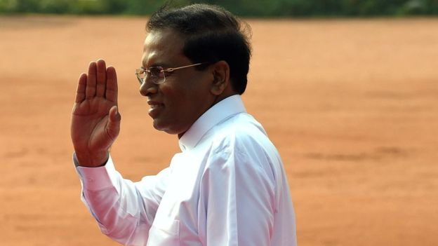 The Sri Lankan president is among those who have expressed dismay at the behaviour of the modern Colombo woman