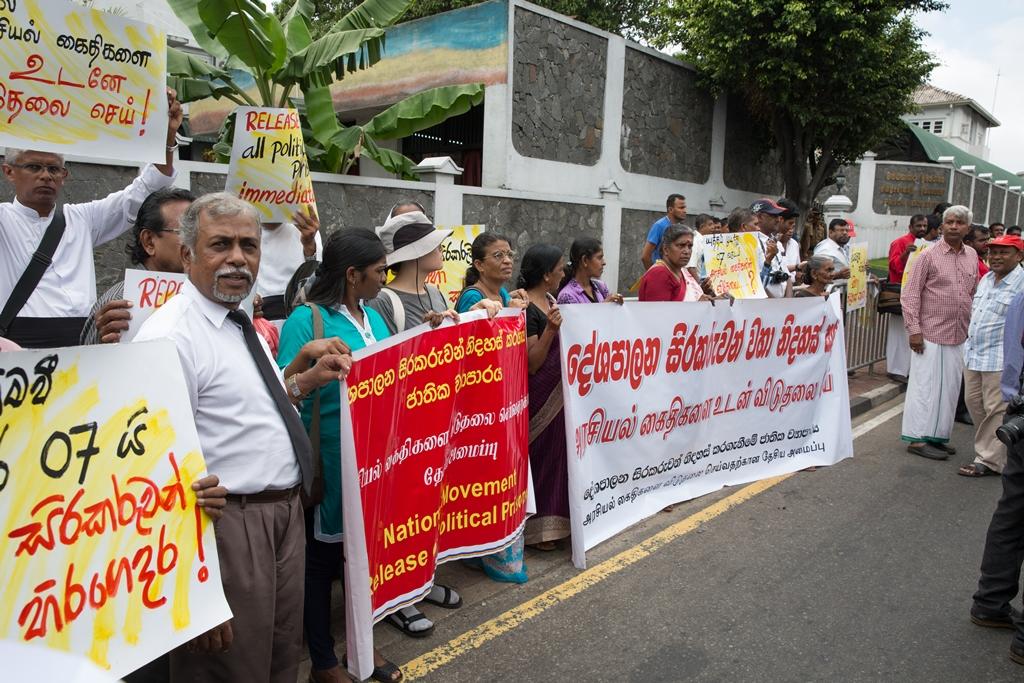 Release Po prisoners  July 2016 (c) s.deshapriya- Small