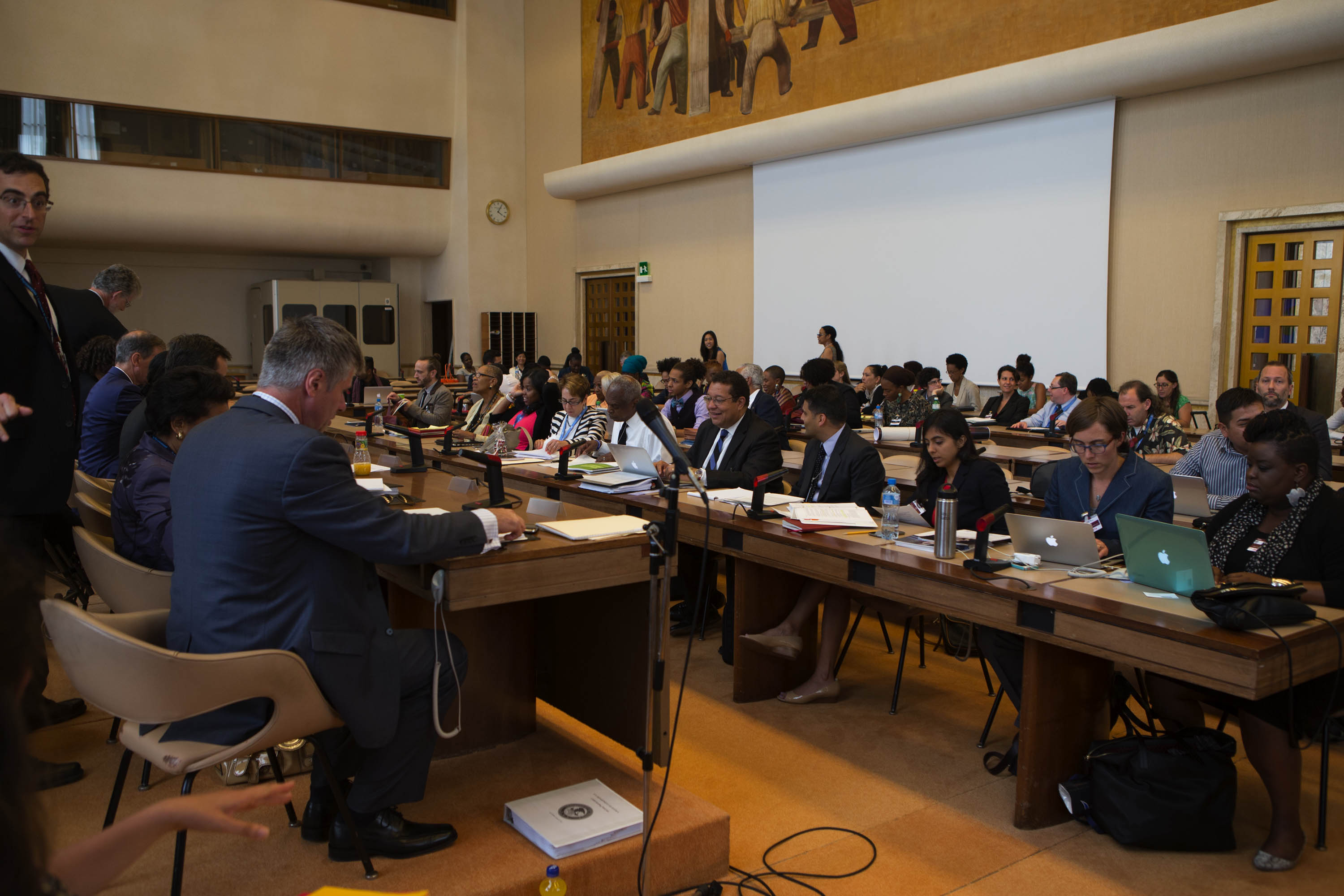 US Delegation to CERD Meets with Civil Society