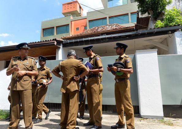 SRI LANKA-CRIME-MEDIA