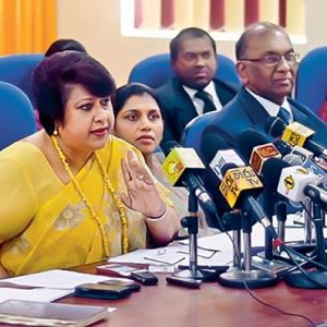 Former DG Bribery Commission: She should not have resinged - Weliamuna