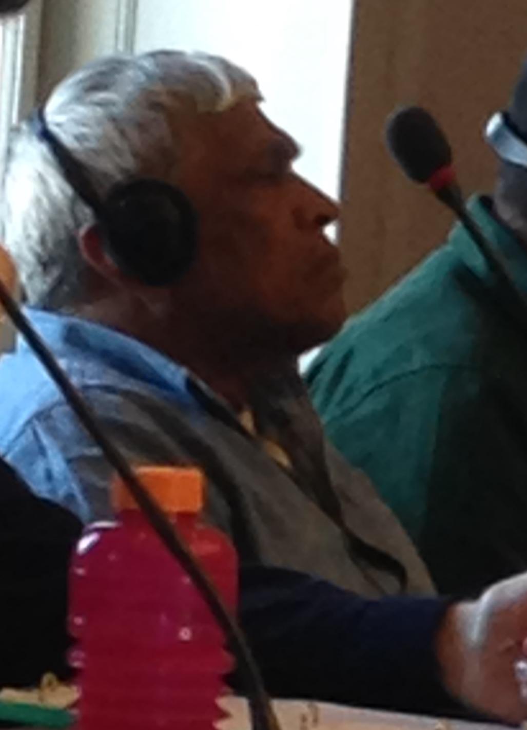 Sri Lankan HRD Brito Fernando at the UNCAT 59