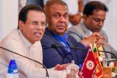 Sri Lanka president says his govt. would continue to implement the UNHRC resolution