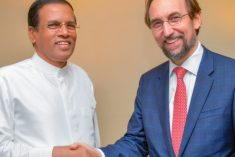 Sri Lanka's reconciliation process is proceeded step by step – Sirisena tells Zeid