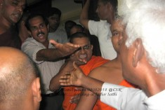 Bishop rejects allegations of monks led mob against Fr. Sathivel
