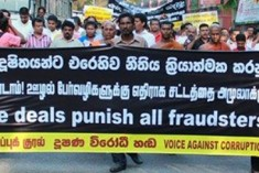 Sri Lanka: 'No Vice Deals! Punish All Fraudsters!!