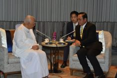 Sri Lanka was unable to advance due to the longstanding conflict, Sampanthan tells Thai PM.