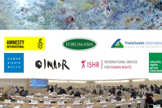 Space for dissent shrinking domestically in Sri Lanka and UNHRC needs to take a more robust approach – Joint statement at HRC 44
