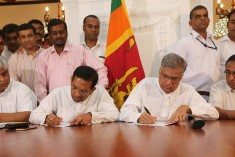 Sri Lanka UNP Leader Calls for a Government Based on Consensus
