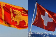 Switzerland and Sri Lanka to calm matters down