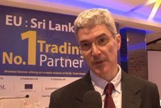 Restoring  GSP+ trade concession to Sri Lanka indirectly confirmed.