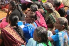 People blocked from protesting in Jaffna