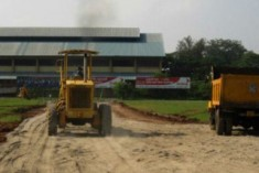 Rs.10 M  Spent  to Concrete Anuradhapura Stadium Ground for Rajapaksa Inaugural Rally