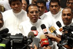 Stubborn Sri Lankan president making a mockery of justice