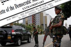 Sri Lanka: Extraordinary gazette issued on maintaining public order