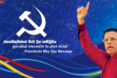 Message from Sri Lanka May Day rallies
