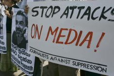 Is this the death squad that went after journalists in Sri Lanka?