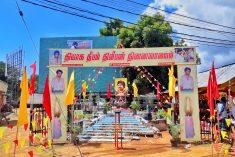 Sri Lanka police file injunction against Thileepan commemoration