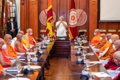 The Aim of pan Sinhala Task Force is to convert the Eastern Province & as much as possible of the Northern Province into majority Sinhalese Areas  – R.Sampanthan