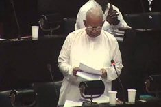 Sampanthan throws a detailed legal challenge to speaker Karu Jasuriya regarding the leader of the opposition post in Sri Lanka parliament