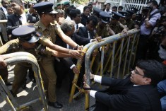 Sri Lanka president picks ally as chief justice, lawyers protest