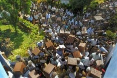 Sri Lankan polls monitor, party workers, attacked in north