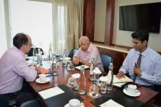 Meeting with  Pablo DE GREIFF: TNA highlights issues of lands, missing persons and the political prisoners