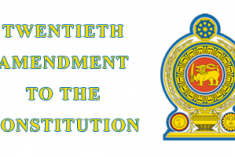 Some Reflections on the Twentieth Amendment Bill – Asanga Welikala