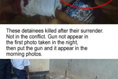 Welikada Killings – Photos show the fabrication of offical narrative