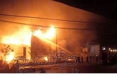 Violence and arson targeting Muslim establishment spreads  :Panadura 'No Limit' ; Jaffna mosque; Trincomalee hotel attacked