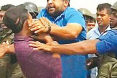 Sri Lanka: Journalists attacked by Navy Comander 'waives investigation!