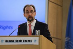 Sri Lanka: Rights Commissioner Zeid encourages UN member states to explore the use of universal jurisdiction