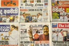 Sri Lanka journalists caught in power struggle: RSF