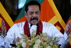 PM Rajapaksa says Sri Lanka has decided to withdraw from the process of co-sponsorship in relation to Resolution 30/1