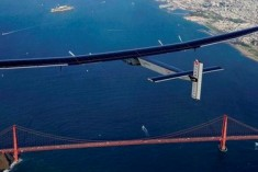 Solar-powered Plane Completes Journey Across Pacific Ocean
