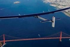 Solar-powered Plane Completes Journey Across Pacific Ocean