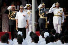 As Pandemic Rages, Sri Lanka's President Pardons a War Criminal