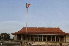 OHCHR offcie respond to GoSL distortion: High Commissioner questioned about the Buddhist Flag not the D.S. statue