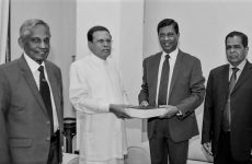 Prez Sirisena's statement on Bond Commission report
