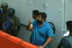 Sri Lanka's Navy chief in hot water after assaulting journalist