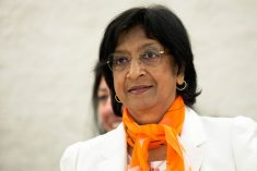 """The key promises of justice and accountability are missing in the PM Wickremesinghe's message."" – Navi Pillay"