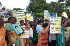Sri Lankan protest over 'disappeared