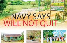 Mullikulam people's struggle continues Navy says will not quit