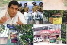 Unbelievable story of president's pet Mervyn Silva: Vice and Thuggary protected by police and blessed by monks