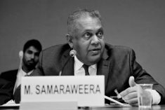 Will Sri Lankan Foreign Minister Samaraweera get axed in cabinet reshuffle?