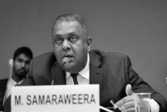 """Shame on you, Mahinda, Shame!!!"". – FM Samaraweera responds to Rajapaksa."