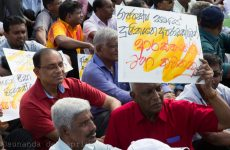 Sri Lanka: Civil and political leaders come together to force Govt to implement its promises
