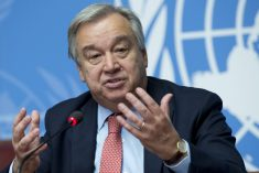 UN Secretary General urges Sri Lanka to respect democracy, constitution